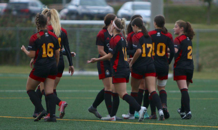 Revivez la victoire du U17 F AAA vs St-Laurent en images
